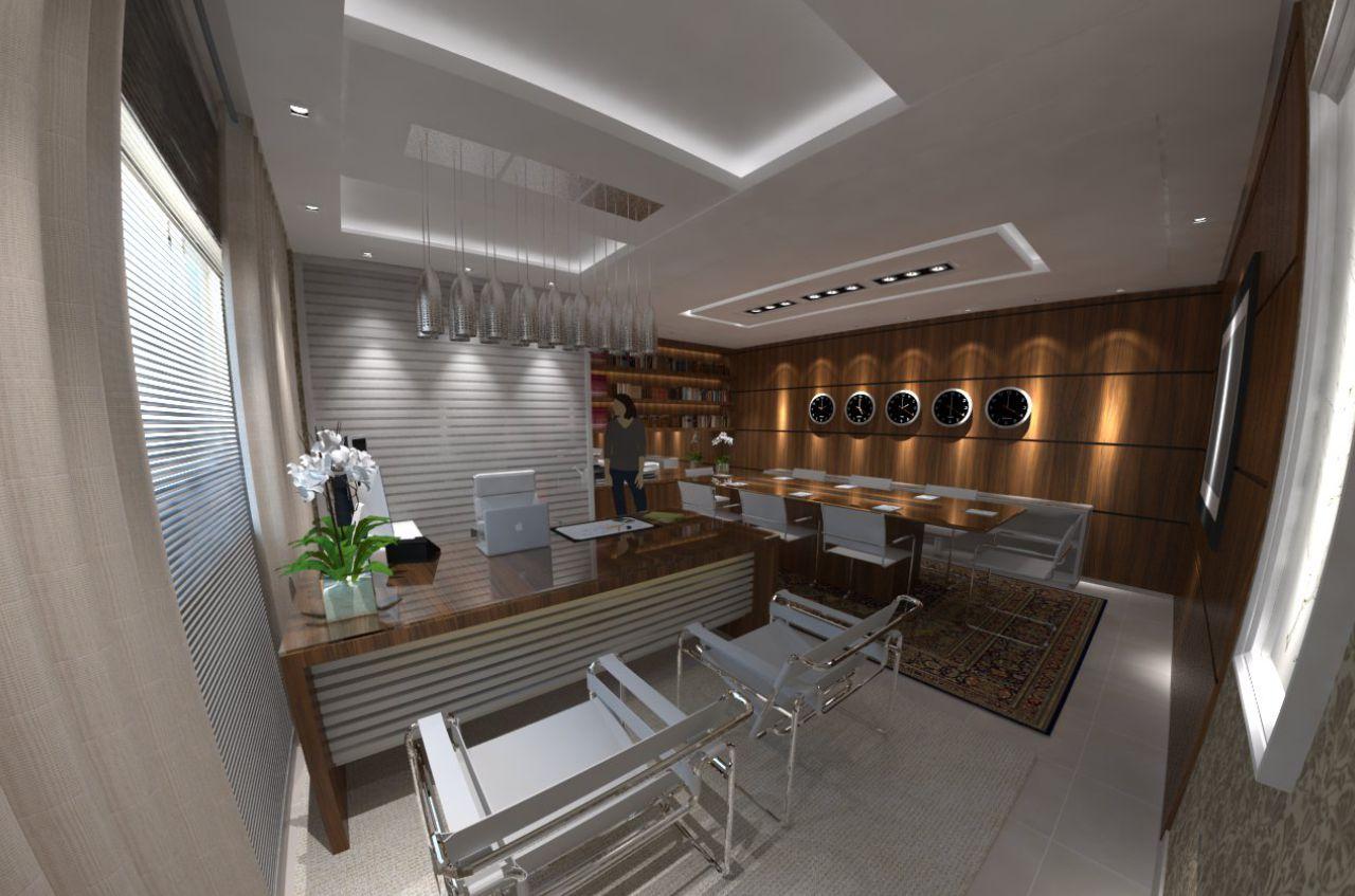 Estúdio Jhon ! Arquitetura & Design Escritório Advocacia #41652C 1280x847